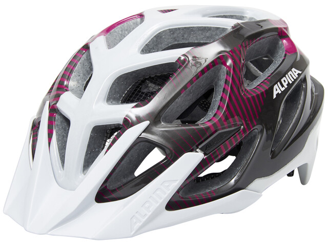 Alpina Mythos 3.0 Helmet white-purple-titanium